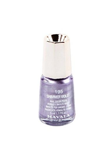 Mavala Mavala 195 Shimmer Violet Oje Mürdüm